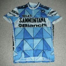 Gelati Sammontana Bianchi Castelli Italian cycling jersey [4/M] c1985