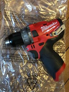 """Milwaukee 2504-20 M12 FUEL Fuel Brushless 1/2"""" Hammer Drill (tool only)"""