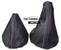 Funda Palanca de Cambios y Freno Para BMW E36 E46 1991-05 Cuero MPower Costura