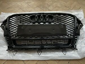 Audi A3 S3 RS3 Honeycombe Grill 2013-16 Pre Facelift
