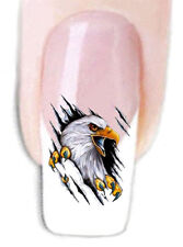 Nail Wraps Tattoo Sticker Wassertransfer Folie 20 Stk. Adler -2