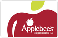 Applebee's Gift Card - $25 $50 or $100 - Email delivery