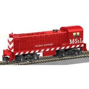 S scale Lionel Minneapolis & St Louis MStL Baldwin Diesel Switcher Engine #48165