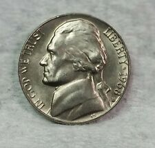 1968 S Jefferson Nickel, BU, Sharp! Uncirculated, Fresh From Bank Rolls....