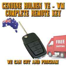 Holden Commodore Statesman VE WM Genuine FLIP Complete Remote Key - FREE POST