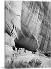 ARTCANVAS White House Ruin - Canyon de Chelly Canvas Art Print by Ansel Adams