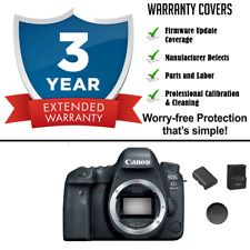 Canon EOS 6D Mark II / MK 2 DSLR Digital Camera Body + 3yr Warranty