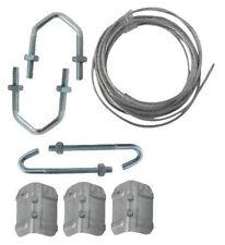 "TV Aerial fixing Chimney Bracket Lashing wire Repair Kit with 1.75"" U V bolts"