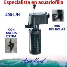 filtro interior interno acuario 400 L/H ip448 barato tortuguera pecera