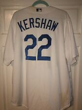 NEW Men's LA Dodgers KERSHAW Majestic White Home Cool Base Player Jersey