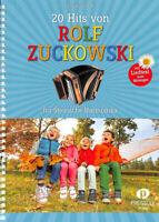 20 Hits von Rolf Zuckowski : für steirische Harmonika in Griffschrift (mit Text)
