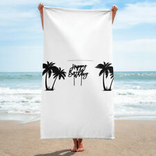 Happy Birthday Beach Towel (Party Gift!)
