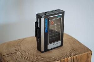 Sony Walkman WM-32 Vintage Cassette Player schwarz Kassetten MC 1986 Stereo