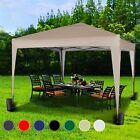 Mcc® 3x3m Pop-up Gazebo Waterproof Outdoor Garden Marquee Canopy NS