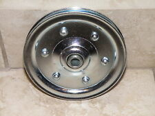 """Garage Door Large 4"""" Sheave Pulley - Extension Spring Pulley Wheel - New!"""