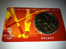2000 UNC $5 OLYMPIC COIN COLLECTION HOCKEY 5 OF 28 COIN