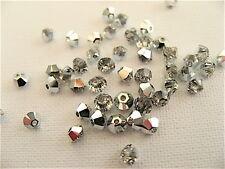 48 Crystal CAL Swarovski Beads Bicone 5328 3mm