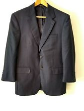 Jos A Bank Wool Mens Suit Sport Jacket 38S Blue Blazer