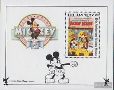bhutan block188 unmounted mint / never hinged 1989 Walt-Disney-FIG Micky Maus