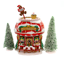 New ListingDept 56 North Pole Exclusive Ltd Ed - Grandma'S Bakery 05841 Avon Retired Mint