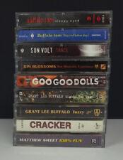 Lot 9 Rock Cassette Tapes - Grant Lee Buffalo/Buffalo Tom/Cracker/Gin Blossums