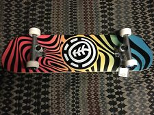 New Element Warped Complete 8.0 Skateboard 52 mm Wheels Abec 5 Bearing