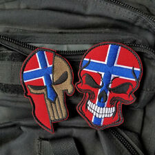 Punisher God Will Judge our Enemies Skull Rucking Hook /& Loop Tactical Patch