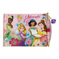 Disney Princesa Disneyland Autógrafo Libro Y Boli Tapa Dura Cubierta Princesas