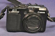 Canon PowerShot G11 Digitalkamera 10.0MP - Black / defekt Bastler defective II