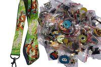 Disney World Pin Trading Lot Lanyard Starter Set Tigger Winnie Pooh w/ 25 Pins