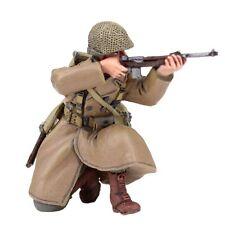 Britains soldados 25041 U.S. 101a Airborne Infantería Con Abrigo De Rodillas