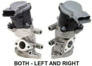 EGR Valve PAIR RH & LH for FORD Territory SZ & LANDROVER Discovery V6 2.7 Diesel