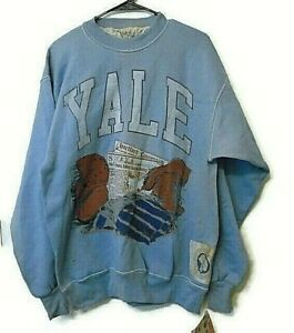 vintage Classic College Football Yale University sweater size L
