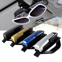 Sun Visor black Sunglasses EyeGlasses Card Pen Holder Clip Car Vehicle Accessory