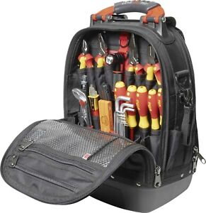 Wiha 45153 Veto Pro Pac Tool Backpack Set L Electric 26 Piece VDE Tool Kit