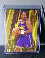 1995-96 Karl Malone Fleer Ultra All-NBA Team #2 Basketball Card