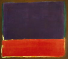 Mark Rothko Number 14 Giclee Canvas Print Paintings Poster Reproduction Copy