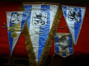1860 München Fußball Wimpelsammlung ab 60-iger Jahre,selten,rar,DFB,WM,EM