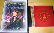 SISSEL CHRISTMAS MORMON TABERNACLE CHOIR concert both DVD+CD EXCELLENT condition