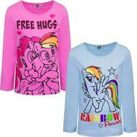 Abbigliamento bambina tshirt unicorno maglietta da bimba littlepony 3 4 6 8 anni
