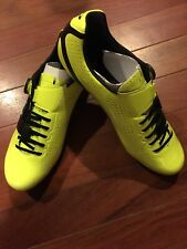 GIRO Factor Techlace Highlight Yellow/Black Road Cycling Shoes, Size US 45 NEW