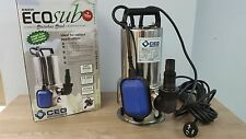 NEW 800W Stainless Steel Submersible Dirty Water Bilge Pump For Sump Or Well