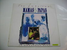 MAMAS AND PAPAS - THE FABULOUS MAMAS & PAPAS - LP 1991 ITALY EXCELLENT CONDITION