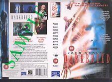 Darkbreed, Sci-Fi, Jack Scalia Video Promo Sample Sleeve/Cover #10144
