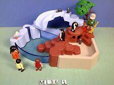 (M136.1) playmobil le bassin des pingouins 4013 peut contenir de l'eau