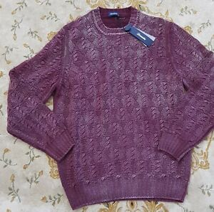 Drumohr 100% soft cashmere sweater made in italy