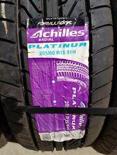 NEW 4 ACHILLES Platinum 205/60 R15 91H