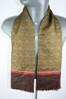 Vintage Silk Style Scarf mod dandy retro mens womens cravat foulard *1068