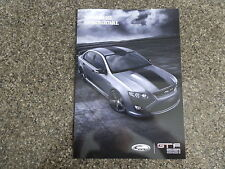 2014 FORD GTF SALES BROCHURE   ''FORD GT'' THE LAST GT