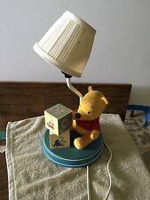 Disney Winnie The Pooh Lamp 1, 2, 3 Blocks Lamp with Shade